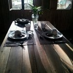Delicious breakfast - loganisa, egg and garlic rice