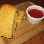 jalapeno studded corn bread