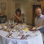 Enjoy silver service at breakfast time!