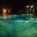 Eco-pool is the extra attraction day and night