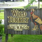 This a sign outside the Wild Turkey visitors center