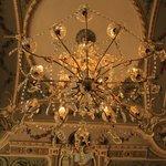 lampadario della hall