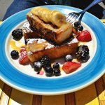 Delicious French toast, Caribbean-style; Miss Lily's; photo © DEANE'S LIST, 2013