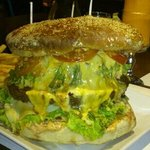 Monster burger, 1.8kg le steack
