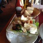 A hearty Ceasar Salad