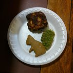 Home made gingerbread squirrel cookie and yummy apple bar