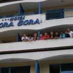 Brilliant balcony with many new friends