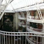 The atrium as viewed from my balcony
