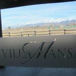 Vista desde el Comedor hacia la Cordillera de los Andes