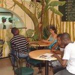 Customers in Jungle