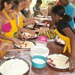Children Pizza workshop