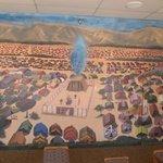 Mural of Tabernacle and Israelite encampment