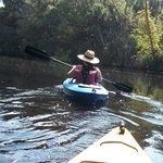 Kayaking in Cracker Creek