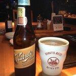 Excellent locally-brewed beer