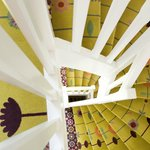Détail de l'escalier