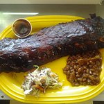 Full RAck Ribs with 2 sides.