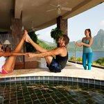 Yoga at Jade Mountain St.Lucia