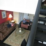 Suite from upstairs