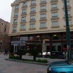 Hotel front entrance