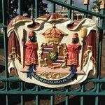 brasão da familia real portão Iolani Palace