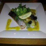 Special salmon was nice