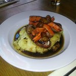 Sausages and mash - what is not to like!