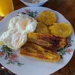 Nuestro primer desayuno de Dulia