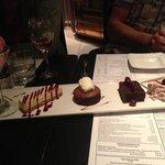 surprise dessert platter! go for it!