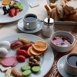 Turkish Breakfast at the Peninsula
