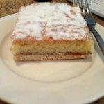 Bakewell Slice  Mmmmmmmmmmm