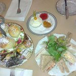 Yummy afternoon tea fow two