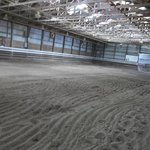 indoor area for the horses