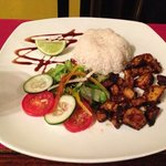 grilled octopus with rice! very good
