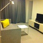 One Bedroom Deluxe Lounge Room, Feb 2013