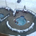 there is nothing better than a hot tub after skiing