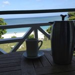 Coffee on the veranda... what a view