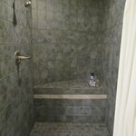 Nice, big awesome shower