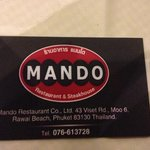 mando steak house