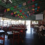 interior del restaurante (estilo mexicano)