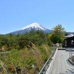 なるさわ富士山博物館まえから