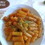 "Pasta ""alla siciliana"" con melanzane"