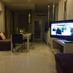 Living room in villa 903