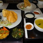 Dal Baht-traditional Nepalese dish