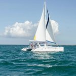 """Paradise Breeze"" - Our 44' Catamaran Sailboat"