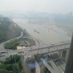 The Radisson Blu Chongqing, view from the 32nd floor