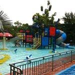 Outdoor water park