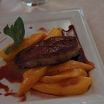First Course: Foie Gras and Mangoes