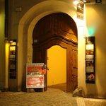 Entry AghaRTA JazzClub, Prague by night