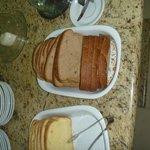 Detalhe do café da manhã