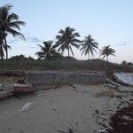 Ruines artistiques au petit matin du 29 avril 2012.